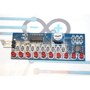 Модуль световой индикации на CD4017BM