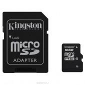 Карта памяти microSD 16гб