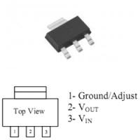 Линейный регулятор AMS1117-5