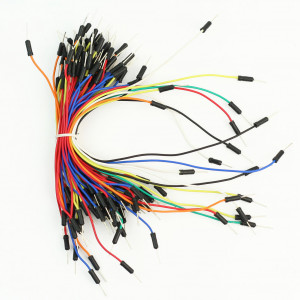 Соединительные гибкие провода 65шт ПАПА-ПАПА ардуино