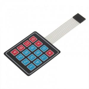 Гибкая матричная клавиатура 4x4
