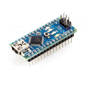 Контроллер Nano v3.0 на чипе ATmega328  с напаянными пинами
