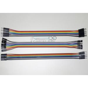 Комплект соединительных проводов 30шт ардуино
