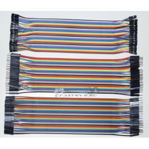 Комплект соединительных проводов 120шт ардуино