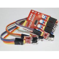 ИК датчик препятствий (приближения) 4х - канальный