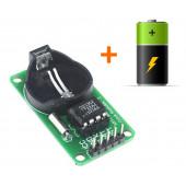 Модуль часов RTC DS1302 с батарейкой для Arduino