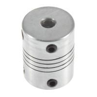 Гибкая муфта  5mm-10mm, D19 L25