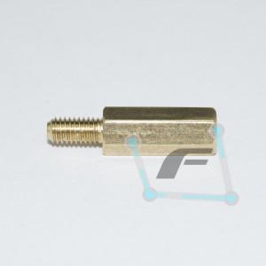 Латунная стойка для печатных плат M3-12mm 6mm