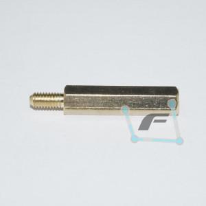 Латунная стойка для печатных плат M3-20mm 6mm