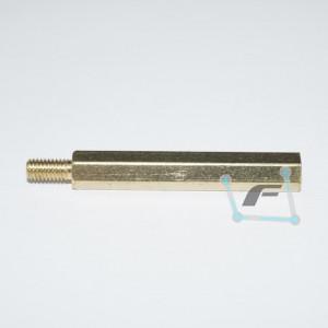 Латунная стойка для печатных плат  M3-30mm 6mm