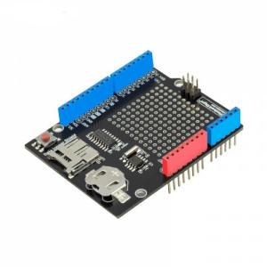 Сенсорная плата расширения (Data logger shield) для Arduino UNO с Micro ридером SD-карт + RTC