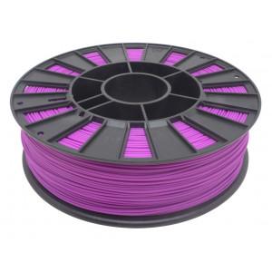Катушка сиреневого цвета PLA пластика для 3D принтера 0.82 кг, 1.75 мм