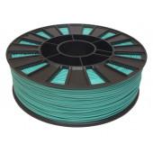 Катушка бирюзового цвета PLA пластика для 3D принтера 0.82 кг, 1.75 мм