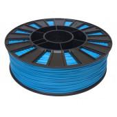 Катушка голубого цвета PLA пластика для 3D принтера 0.82 кг, 1.75 мм