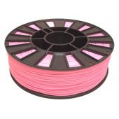 Катушка розового цвета PLA пластика для 3D принтера 0.82 кг, 1.75 мм