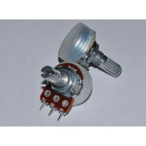 Потенциометр, переменный резистор, 50 кОм, B50K