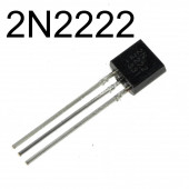 Транзистор 2n2222 0.6A 30В TO-92